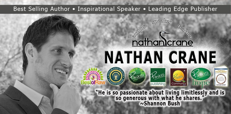 Nathan Crane – Internationally Acclaimed Author, Inspirational Speaker, and Leading Edge Publisher in Personal Development, Health, and Spiritual Progression