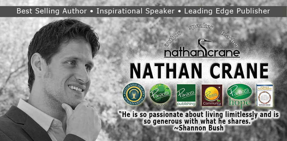 Nathan Crane – Internationally Acclaimed Author, Inspirational Speaker, and Leading Edge Publisher in Personal Development, Health, and Lifestyle Design