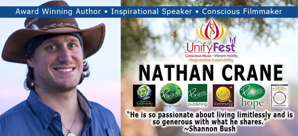 Nathan Crane – Award Winning Author, Inspirational Speaker, and Conscious Filmmaker